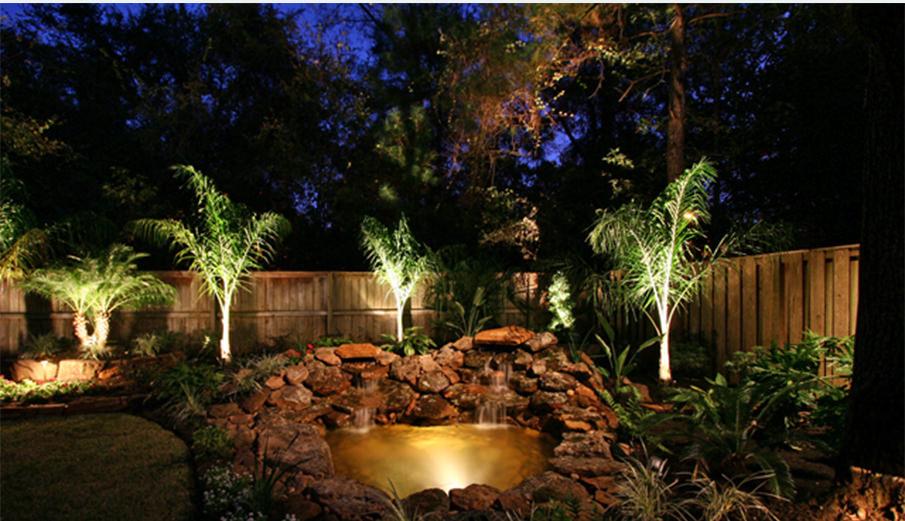 Outdoor Landscape Night Lighting Yardbirds Landscaping