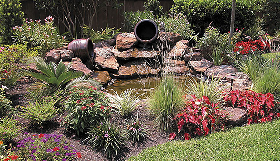 Landscape Water Features Waterscapes Yardbirds Landscaping
